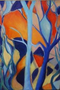 Blue Trees Dancin'